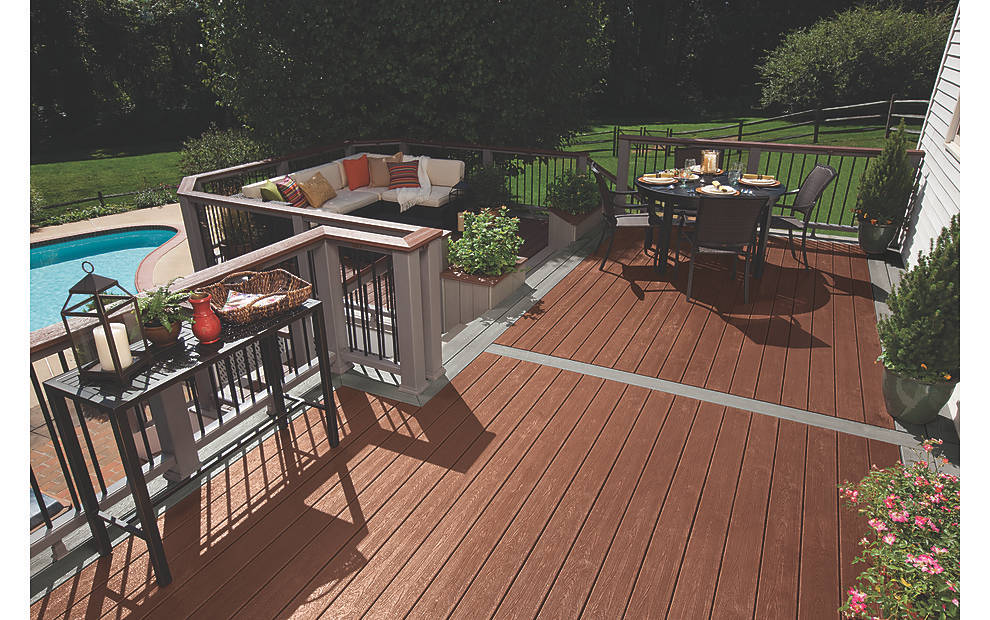 Build In Backyard Grill With Deck
