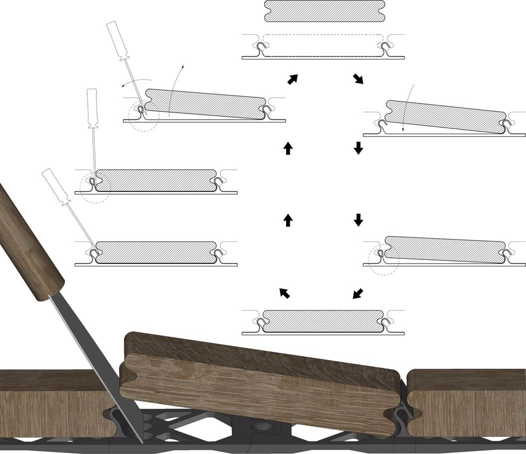 Ez-rail decking