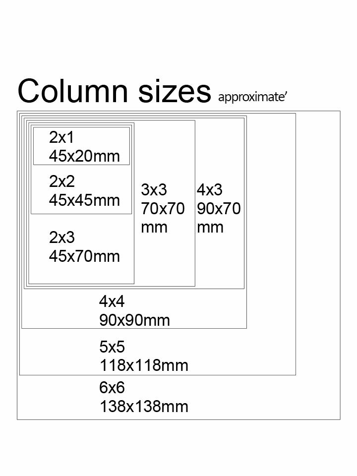 Timber decking sizes