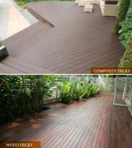 Composite decking Vs Timber decking
